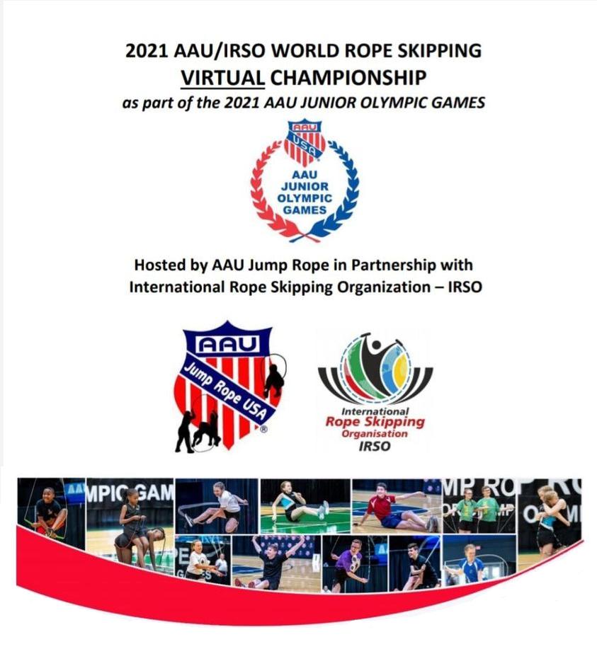 AAU IRSO World Rope Skipping CHampionship 2021